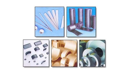 Flexible and Sintered Ferrite Magnets