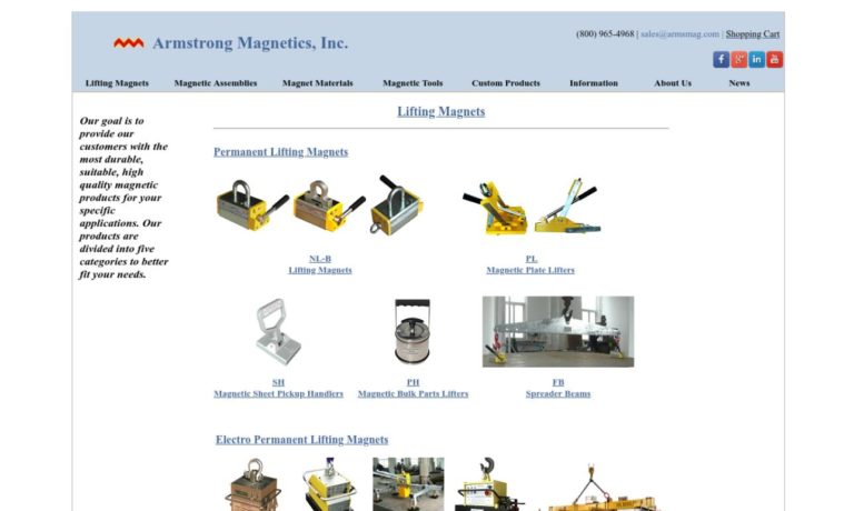 Armstrong Magnetics Inc.