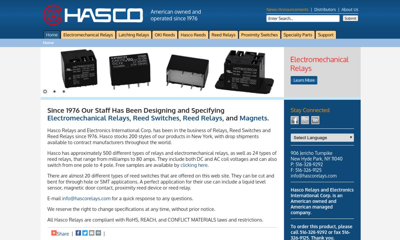 Hasco Components International Corp.