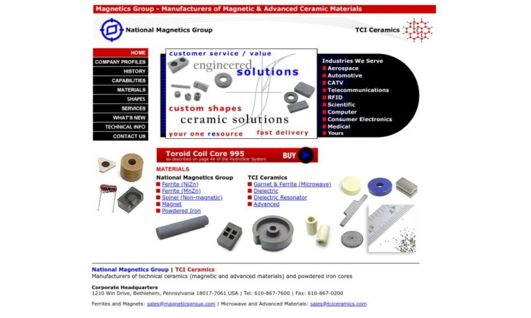 National Magnetics Group