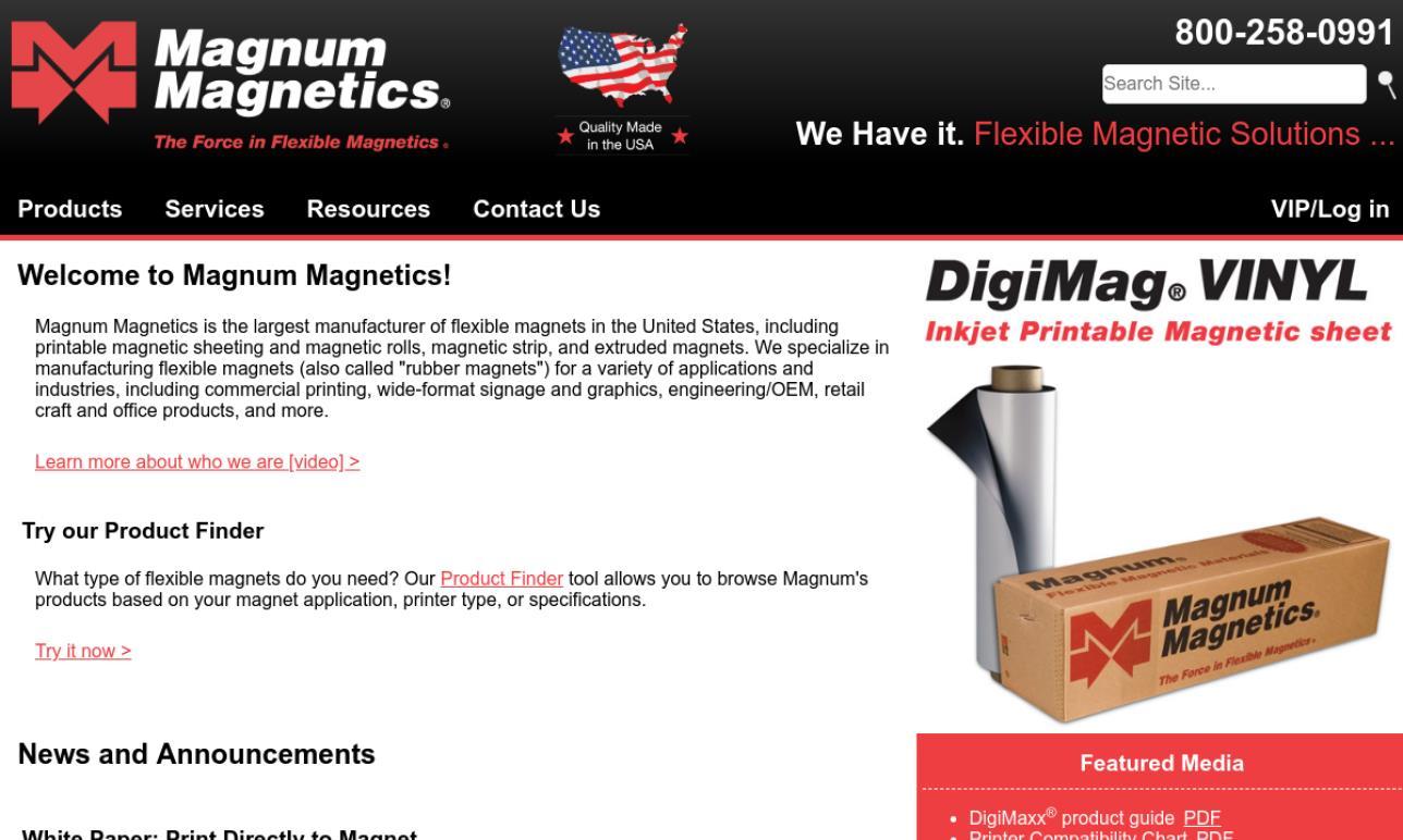 Magnum Magnetics Corporation
