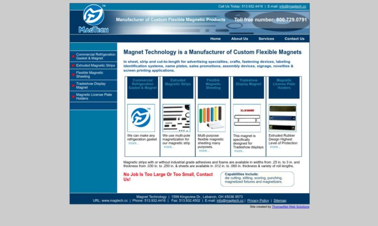 Magnet Technology, Inc.