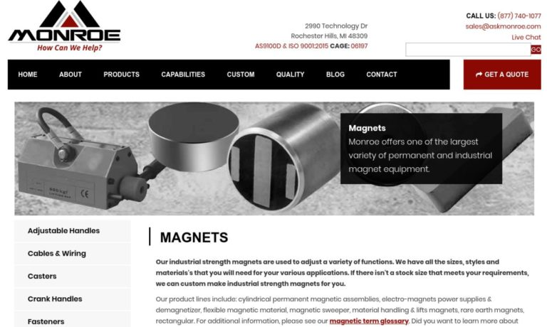 Monroe Engineering Products