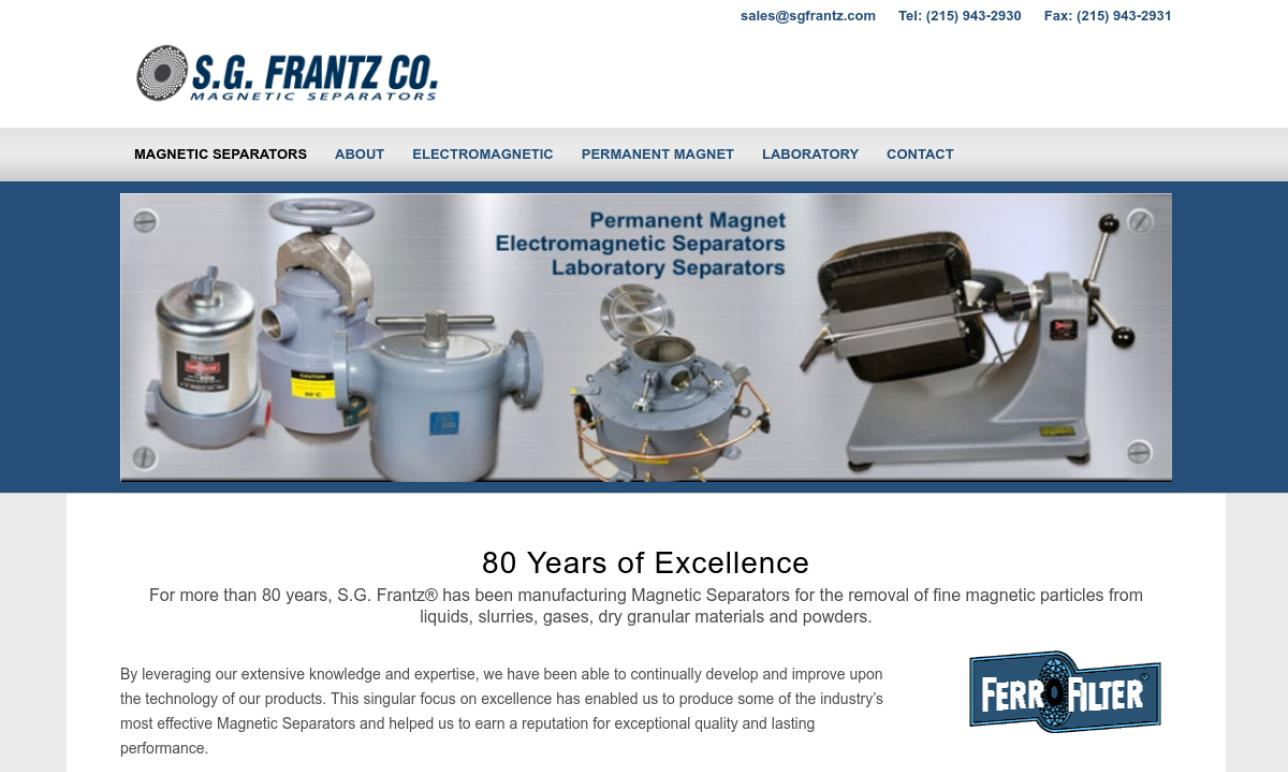 S.G. Frantz Co., Inc.