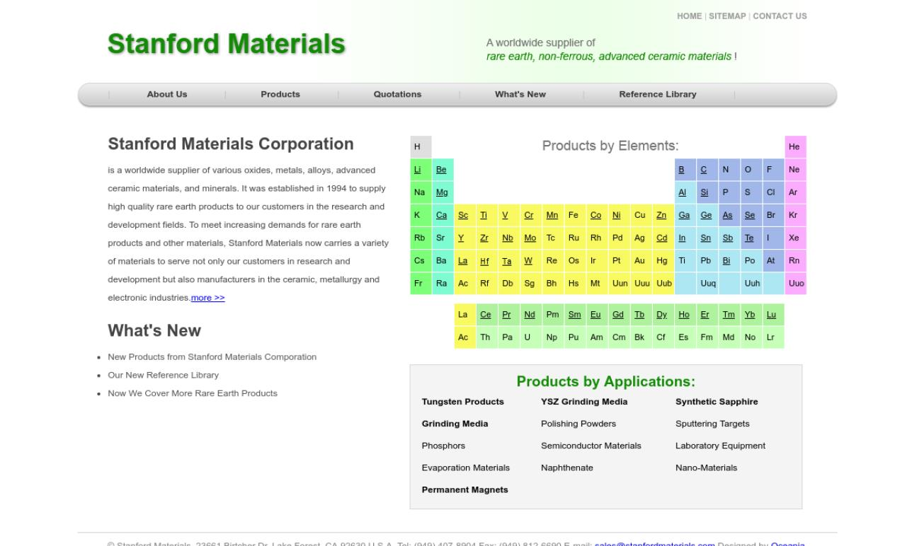 Stanford Materials Corporation