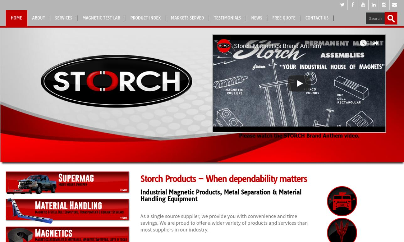 Storch Magnetics/ Storch Products